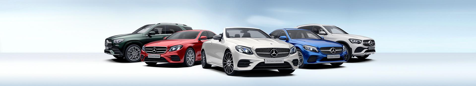Showroom de Mercedes-Benz.
