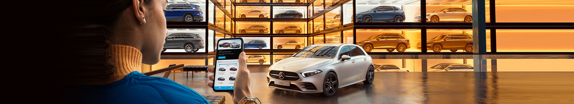 Showroom de Mercedes-Benz.